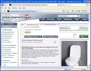 Gratis toilet hos Lavprissvvs.dk